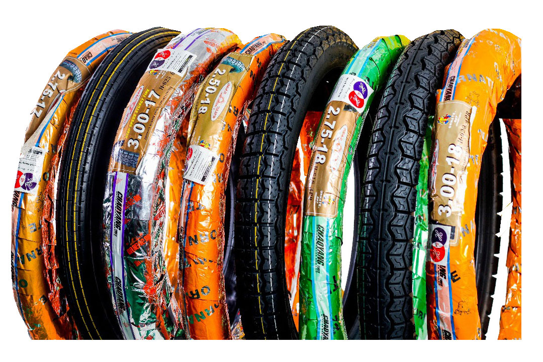 Ornate Motorcycle Tyres